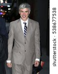 Small photo of NEW YORK - DEC 14, 2016: Alphabet CEO Larry Page is seen on December 14, 2016, in New York.