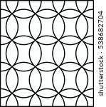 circle pattern background... | Shutterstock .eps vector #538682704