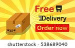 free delivery banner box with...