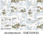 Digital Camouflage Pattern...