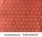 traditional thai fabric pattern ... | Shutterstock . vector #538764070