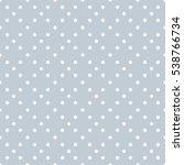 seamless polka dots pattern... | Shutterstock .eps vector #538766734