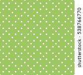 seamless polka dots pattern... | Shutterstock .eps vector #538766770