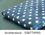 cat hair stick to fabric. | Shutterstock . vector #538774990