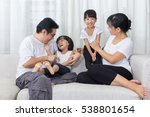 Happy Asian Chinese Family...