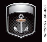Anchor Symbol Silver Display