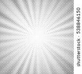 vector halftone design element. ... | Shutterstock .eps vector #538846150