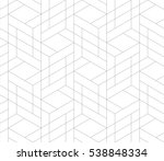 seamless linear pattern with... | Shutterstock .eps vector #538848334