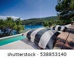 komiza  vis   croatia   aug 15  ... | Shutterstock . vector #538853140