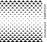 abstract monochrome geometric... | Shutterstock .eps vector #538855420