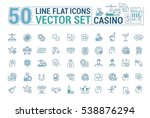 vector graphic set of icons in...