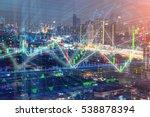 stock market chart  stock... | Shutterstock . vector #538878394