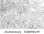 distress overlay tyre trace... | Shutterstock .eps vector #538898149