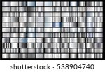 silver abstract gradient... | Shutterstock .eps vector #538904740