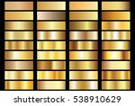 gold gradient background vector ... | Shutterstock .eps vector #538910629
