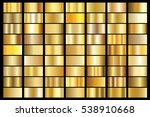 gold gradient background vector ... | Shutterstock .eps vector #538910668