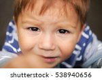 poor kid is crying | Shutterstock . vector #538940656