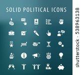 set of 25 universal solid... | Shutterstock .eps vector #538963138