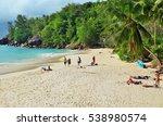 mahe  seychelles   july 06 ... | Shutterstock . vector #538980574