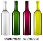 set of four realistic looking... | Shutterstock .eps vector #538980910