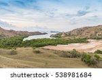rinca island in komodo national ...   Shutterstock . vector #538981684