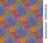 cartoon handdrawn handmade and...   Shutterstock .eps vector #539010220