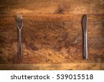 knife and fork with missing...   Shutterstock . vector #539015518