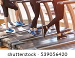 stepping into life of health.... | Shutterstock . vector #539056420