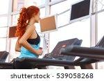regular exercise to stay... | Shutterstock . vector #539058268