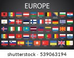 illustrated flags from the...   Shutterstock .eps vector #539063194