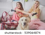pajama party | Shutterstock . vector #539064874