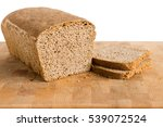 fresh homemade tin bread with 2 ... | Shutterstock . vector #539072524
