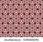 seamless floral pattern. raster ...   Shutterstock . vector #539085094