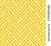 the geometric pattern by... | Shutterstock .eps vector #539089480