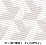 Stock vector abstract geometric pattern with lines stripes a seamless vector background gray and white 539089810