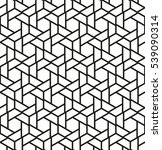 the geometric pattern with... | Shutterstock .eps vector #539090314
