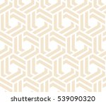 abstract geometric pattern with ... | Shutterstock .eps vector #539090320