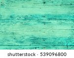 wood plank fence in green and... | Shutterstock . vector #539096800