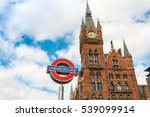 street view of london... | Shutterstock . vector #539099914