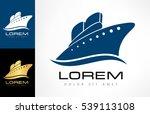 ship logo | Shutterstock .eps vector #539113108