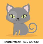 cat pet icon image vector...   Shutterstock .eps vector #539120530