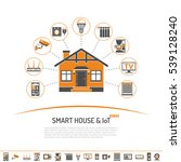 smart house and internet of... | Shutterstock .eps vector #539128240