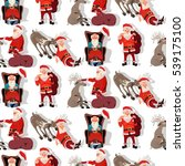Seamless Christmas Pattern....