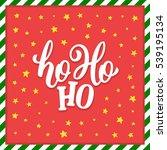 Ho Ho Ho Christmas Vector...