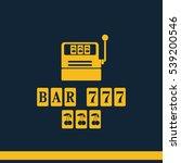 slot machine illustration.