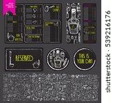 vector restaurant brochure ...   Shutterstock .eps vector #539216176