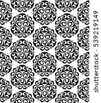 ancient black and white celtic... | Shutterstock . vector #539219149