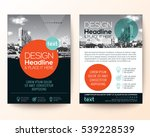 poster flyer pamphlet brochure... | Shutterstock .eps vector #539228539