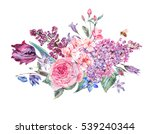 Vintage Garden Watercolor...