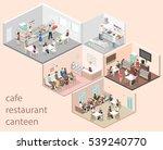 isometric flat 3d concept... | Shutterstock . vector #539240770